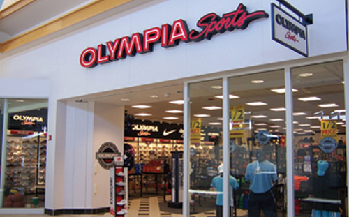 Olympia Sports offers a free membership to their Edge Rewards program, where shoppers can earn points towards products and frequent coupons through e-mail. Points are easily kept track of on their website or at an Olympia Sports retailer.