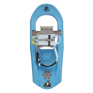 Yukon Charlie's Jr. Series Molded Snowshoes for Kids (blue)