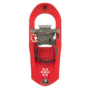 Yukon Charlie's Jr. Series Molded Snowshoes for Kids (red)