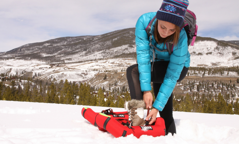 Inflatable Snowshoes by Yukon Charlie's