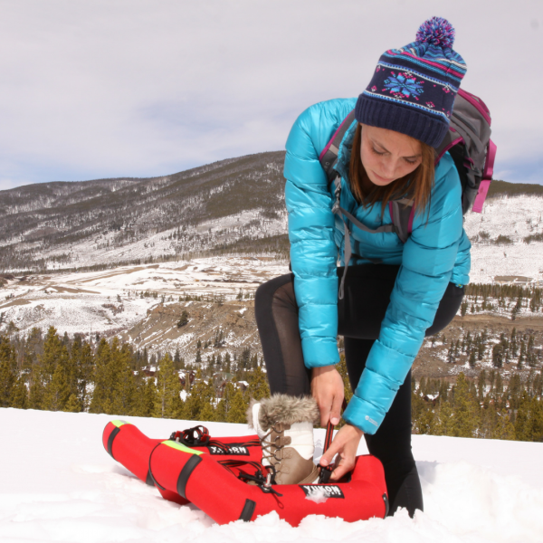Airlift Inflatable Snowshoes by Yukon Charlie's