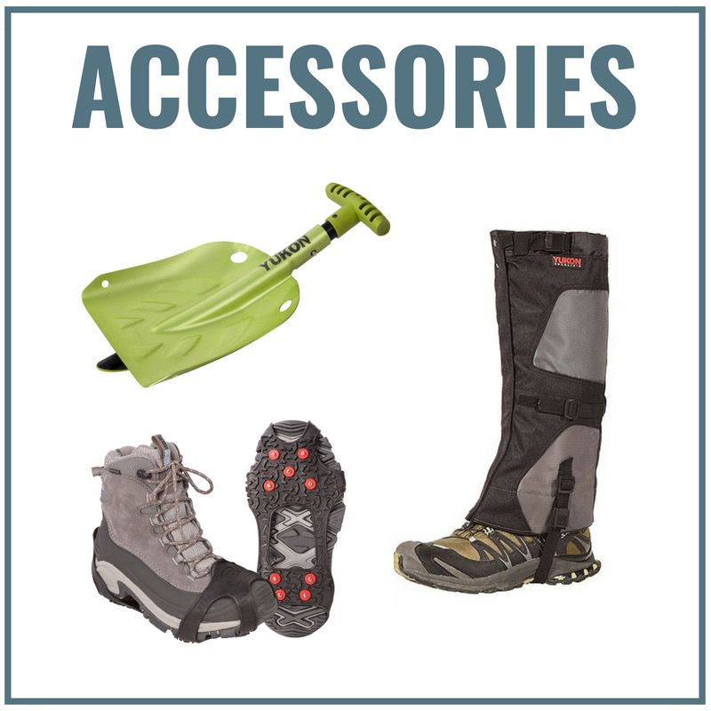 Accessories for Snowshoeing